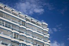 Construção moderna residencial Fotografia de Stock Royalty Free