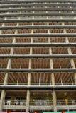 Construção multistorey estripada Foto de Stock