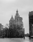 Construção municipal de Manhattan Fotografia de Stock Royalty Free