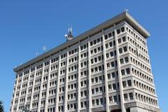 Construção municipal de Ploiesti Imagem de Stock