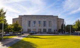 Construção municipal no Oklahoma City - OKLAHOMA CITY - OKLAHOMA - 18 de outubro de 2017 fotos de stock royalty free