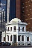 Construção na avenida em Quito, Equador de Patria Foto de Stock Royalty Free