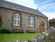 Construção na ilha de Iona, Escócia Imagem de Stock