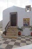 Construção na ilha de Patmos fotos de stock royalty free