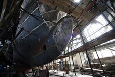 Construção naval Fotos de Stock Royalty Free