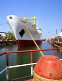 Construção naval, reparo do navio Imagens de Stock
