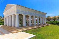 Construção neoclássico grega da arquitetura Imagem de Stock