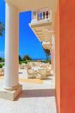 Construção neoclássico grega da arquitetura Fotos de Stock Royalty Free