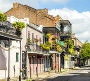 Construção no bairro francês em Nova Orleães Fotos de Stock Royalty Free