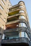 A construção no estilo do functionalism Fotos de Stock Royalty Free