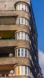 A construção no estilo do functionalism Imagens de Stock