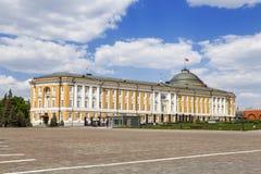 Construção no Kremlin, Moscou do Senado, Foto de Stock Royalty Free