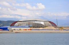 Construção no parque olímpico de Sochi Fotos de Stock Royalty Free