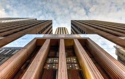 Construção norte de 33 LaSalle - Chicago Imagens de Stock