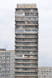 Construção nos subúrbios de St Petersburg Foto de Stock Royalty Free