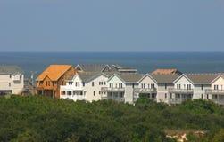 Construção nova da HOME da praia imagem de stock royalty free