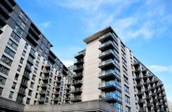 Construção nova em Birmingham Foto de Stock Royalty Free