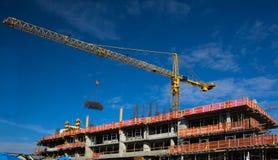 Construção nova na cidade nova de Westminster Imagens de Stock Royalty Free