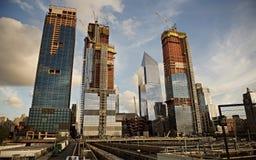 Construção nova na 34a rua NYC Imagem de Stock Royalty Free