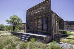 Construção ocidental velha do estúdio do filme da cidade Imagens de Stock