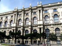 Construção oficial no centro de Viena Fotografia de Stock