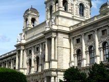 Construção oficial no centro de Viena Fotos de Stock Royalty Free