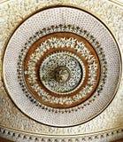 Construção ornamentado luxuosa interior do teto do palácio Imagem de Stock