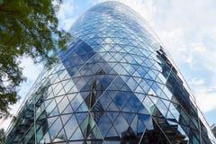 30 construção ou pepino do St Mary Axe em Londres Imagens de Stock