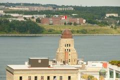 Construção pública da autoridade - Halifax imagem de stock