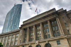 Construção pública da autoridade, Toronto Imagens de Stock