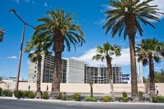 Construção parada na tira, Las Vegas fotografia de stock royalty free