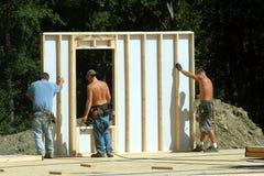 Construção - parede do edifício Fotografia de Stock