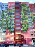 Construção pintada em Berlim, Alemanha Imagens de Stock Royalty Free