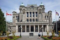 Construção provincial do parlamento do Columbia Britânica Imagens de Stock Royalty Free