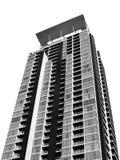 Construção quadrada no capital Fotos de Stock Royalty Free