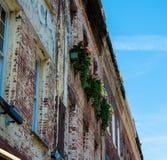 Construção rústica de Charleston South Carolina fotografia de stock