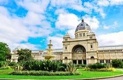 Construção real da exposição em Melbourne Imagens de Stock Royalty Free