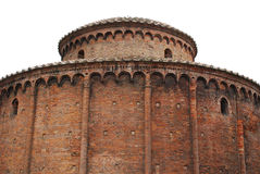 Construção redonda, Mantova Imagens de Stock Royalty Free