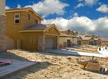 Construção residencial Fotografia de Stock Royalty Free