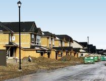 Construção residencial Fotografia de Stock