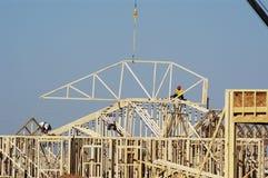 Construção residencial 4 Imagem de Stock Royalty Free