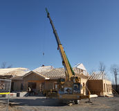 Construção residencial Imagens de Stock Royalty Free