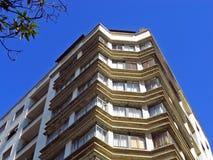 Construção residencial modernista Imagem de Stock Royalty Free