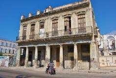 Construção residencial velha Foto de Stock