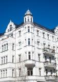 Construção residencial velha em Berlim Fotografia de Stock Royalty Free