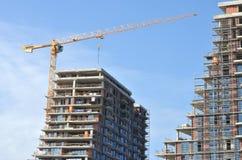 Construção sob a construção Imagem de Stock