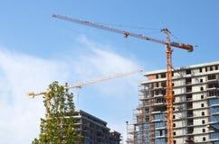 Construção sob a construção Fotografia de Stock Royalty Free