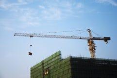 Construção sob a construção Fotos de Stock