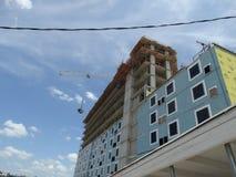 Construção sob a construção em Austin TX Imagens de Stock Royalty Free
