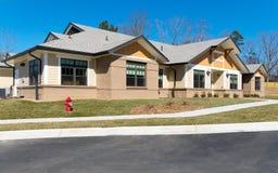 Construção suburbana nova Imagem de Stock Royalty Free